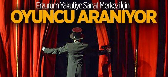 Erzurum'da tiyatro oyuncusu aranıyor!