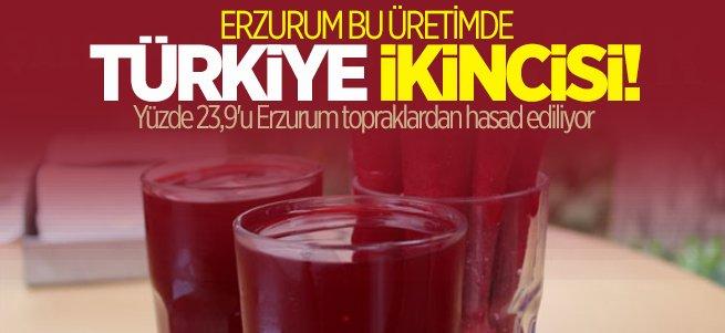 Erzurum şalgam üretiminde Türkiye ikincisi oldu