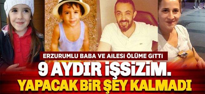 Antalya'da şok!Erzurumlu aile ölü bulundu