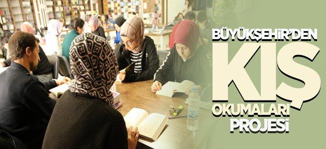"""Büyükşehir'den """"Kış Okumaları"""" Projesi"""