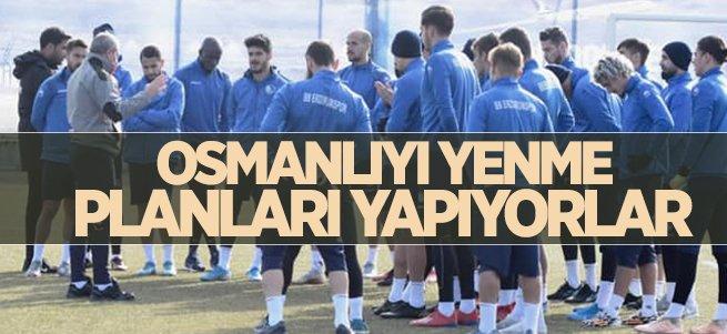 BB Erzurumspor'da hedef Osmanlıspor'u yenmek