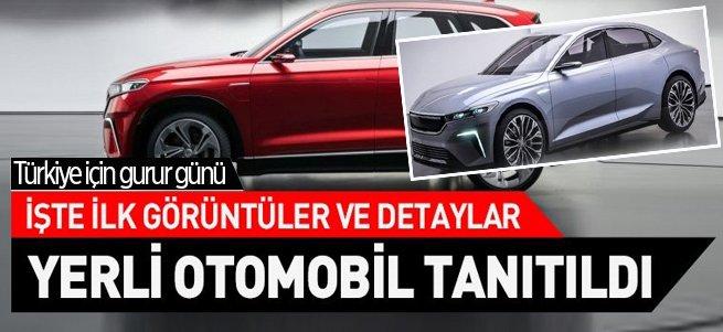 Türkiye'nin otomobili tanıtıldı! Özellikleri neler?