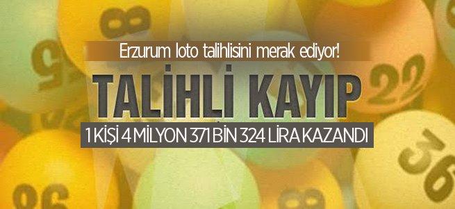 Erzurum Loto Talihlisini Merak Ediyor