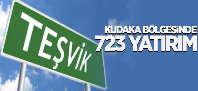 KUDAKA Bölgesine 723 Yatırım