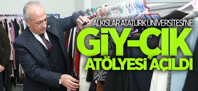Atatürk Üniversitesi Giy-Çık Atölyesi Açıldı