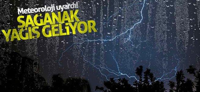 Meteoroloji'den doğu için yağış uyarısı