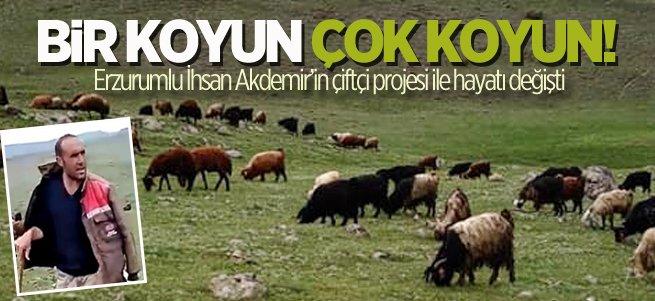 Erzurumlu çiftçinin başarı hikayesi