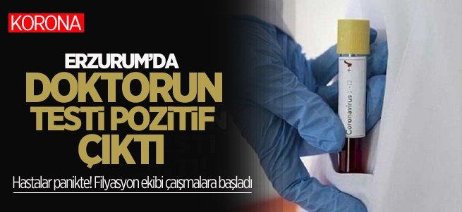 Erzurum'da Aile Hekimi Doktorun Testi Pozitif Çıktı