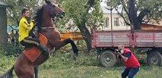 """""""Türkün Kanadı At"""" etkinliği düzenlendi"""