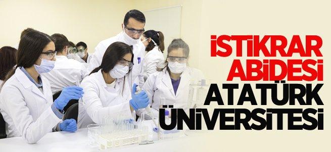 Atatürk Üniversitesinin istikrarlı yükselişi sürüyor