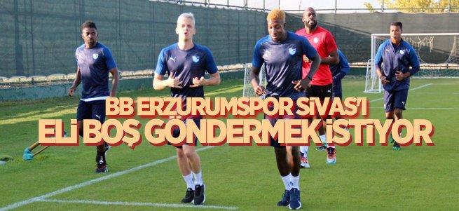 BB Erzurumspor Sivas'ı eli boş göndermek istiyor