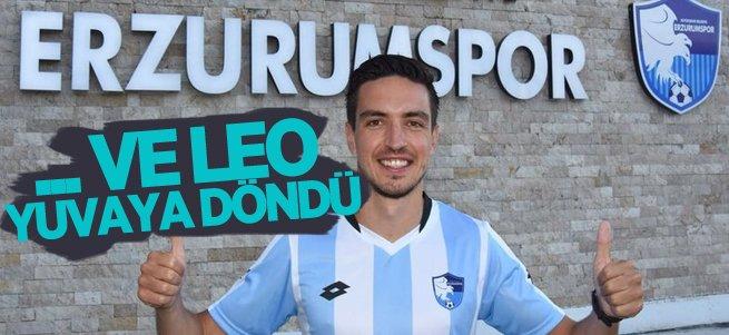 BB Erzurumspor'da Leo geri döndü