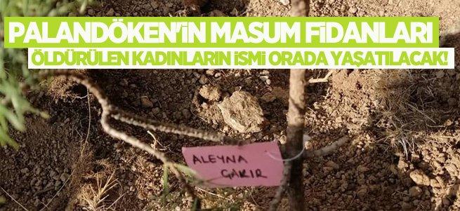 Öldürülen kadınların ismi Palandöken'de yaşatılacak!