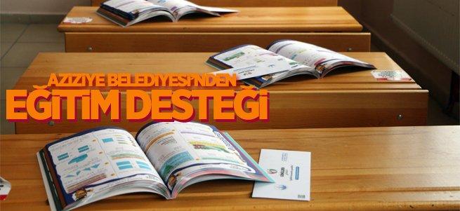 Aziziye belediyesi'nden eğitim desteği