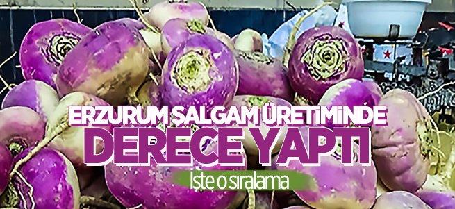 Erzurum şalgam üretiminde Türkiye 2'ncisi