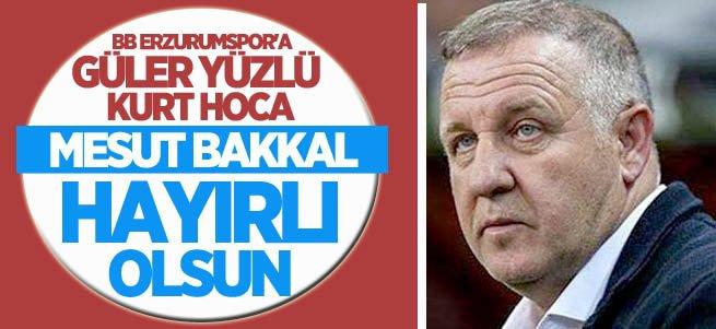 BB Erzurumspor'un yeni hocası Mesut Bakkal