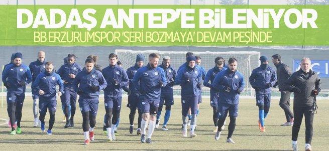 BB Erzurumspor Gaziantep'e bileniyor