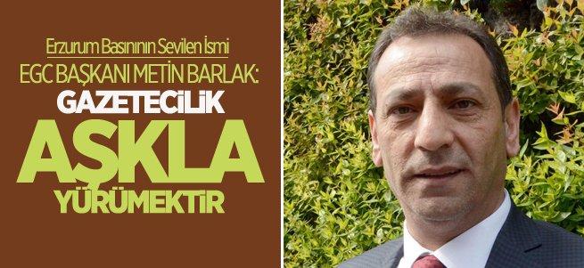 EGC Başkanı Metin Barlak'tan 10 Ocak Mesajı