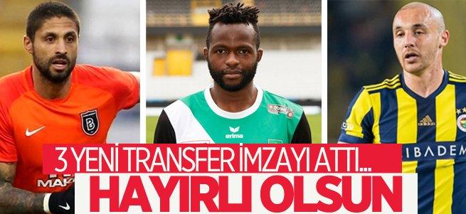 BB Erzurumspor'da 3 yeni transfer imzayı attı