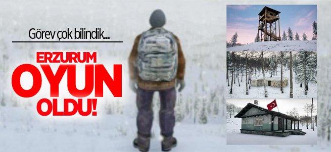 Görev Erzurum soğuğunda hayatta kalmak!
