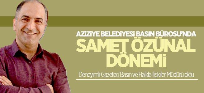 Gazeteci Samet Özünal'a yeni görev