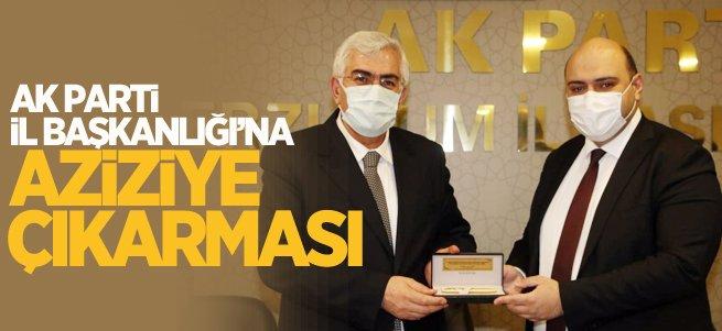 AK Parti Erzurum İl Başkanlığı'na Aziziye çıkarması