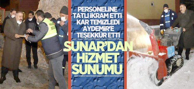 Palandökenli AK Belediyecilik farkını yaşıyor