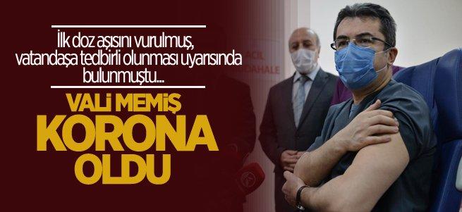 Erzurum Valisi Okay Memiş Korona oldu