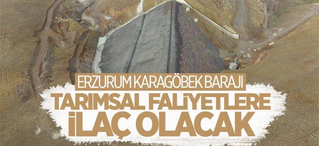 Karagöbek barajı sulu tarımdan kazandıracak!