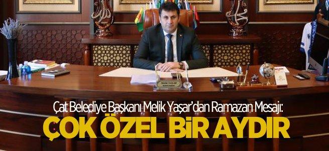 Başkan Melik Yaşar'dan Ramazan ayı mesajı