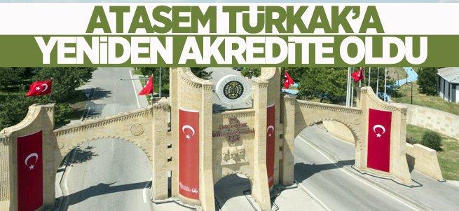 ATASEM TÜRKAK'a yeniden akredite oldu