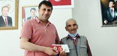 Başkan Yaşar'dan personele bayram jesti