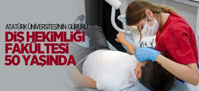 Atatürk Üniversitesi Diş Hekimliği Fakültesi 50 Yaşında